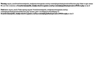 productiveorganizer.com screenshot