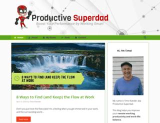productivesuperdad.com screenshot