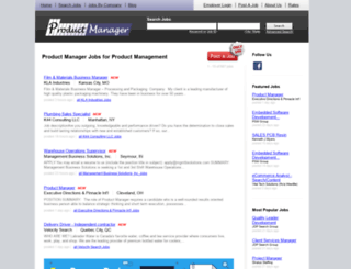 productmanager.com screenshot