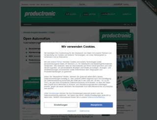 productronic.de screenshot