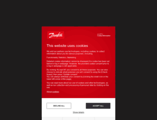 products.danfoss.com screenshot