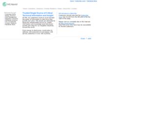 products.ihserc.com screenshot