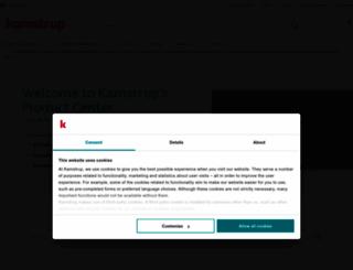 products.kamstrup.com screenshot