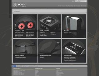 products.xfxforce.com screenshot