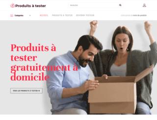 produitsatester.fr screenshot