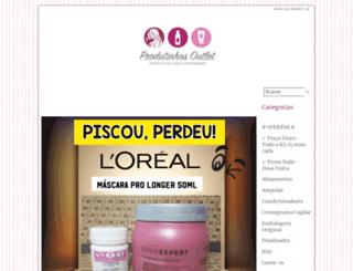 produtinhosoutlet.loja2.com.br screenshot