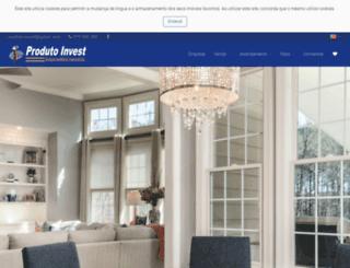 produtoinvest.pt screenshot