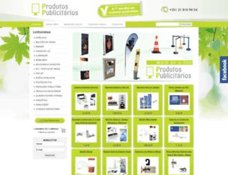 produtospublicitarios.pt screenshot