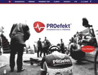 proefekt.sk screenshot