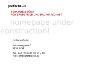 profacto.at screenshot