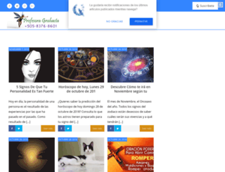 profesoragrahasta.com screenshot