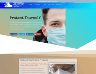 professionalhealthcareproducts.com screenshot