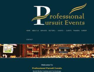 professionalpursuit.com screenshot