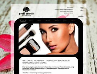 profiestetic.com screenshot