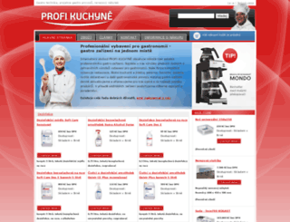 profikuchyne.cz screenshot
