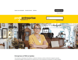 profilentreprise.com screenshot
