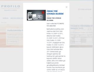 profilo.com.tr screenshot