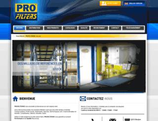 profilters.com screenshot