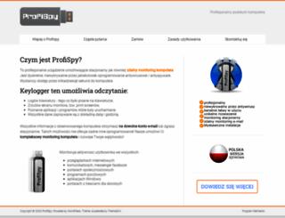 profispy.pl screenshot