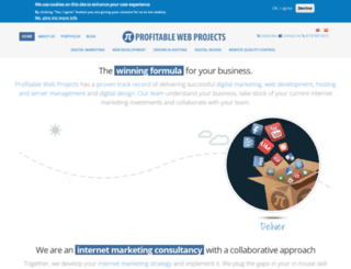 profitablewebprojects.com screenshot