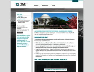 profitfunds.com screenshot