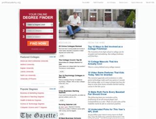 profitsacademy.org screenshot