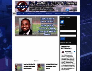 profootballwriters.org screenshot