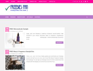 profreebies-fan.com screenshot