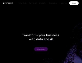 profusion.com screenshot