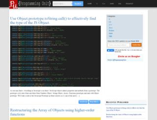 programmingunit.com screenshot