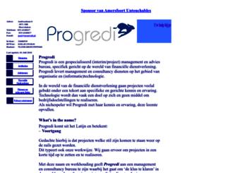 progredi.nl screenshot