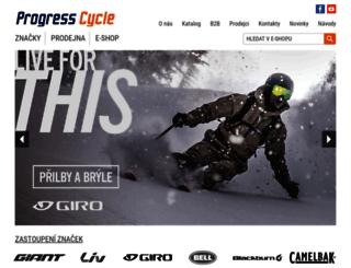 progresscycle.cz screenshot