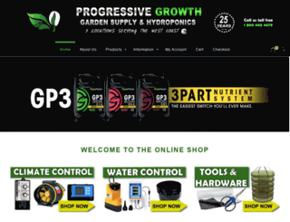 progressive-growth.com screenshot
