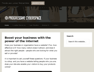 progressivecyberspace.com screenshot