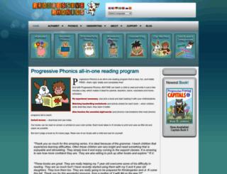 progressivephonics.com screenshot