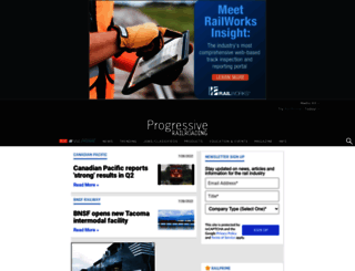 progressiverailroading.com screenshot