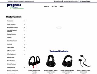 progressoffice.co.za screenshot