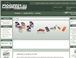 progunner.eu screenshot