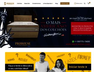 prohousecolchoes.com.br screenshot