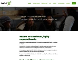 projectcodex.co screenshot
