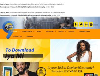 projectfamewestafrica.com screenshot