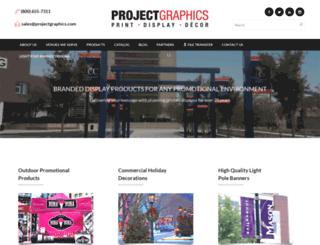projectgraphics.com screenshot