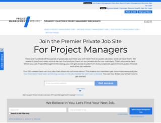 projectmanagementcrossing.com screenshot
