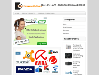 projectmanagementsoftwareservices.com screenshot