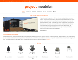 projectmeubilair.nl screenshot
