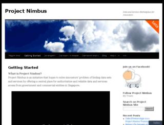 projectnimbus.org screenshot