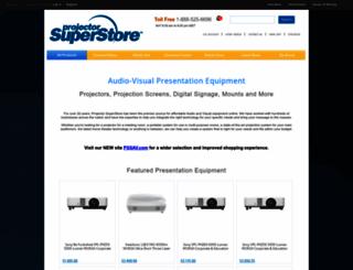 projectorsuperstore.com screenshot