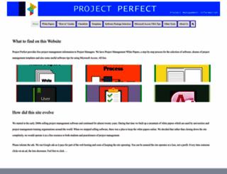 projectperfect.com.au screenshot