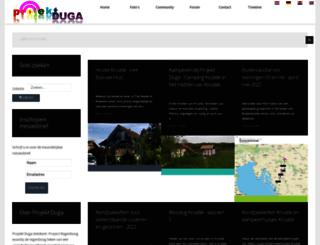 projektduga.nl screenshot