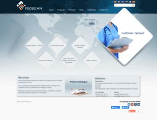 projesan.com.tr screenshot